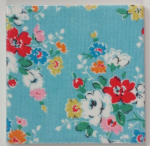 Ceramic Wall Tiles Made With Cath Kidston Clifton Rose Blue